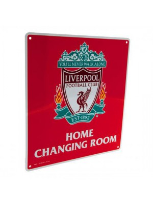 Liverpool FC Home Changing Room Sign