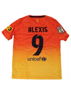 Barcelona away jersey 2012/13 - Alexis 9