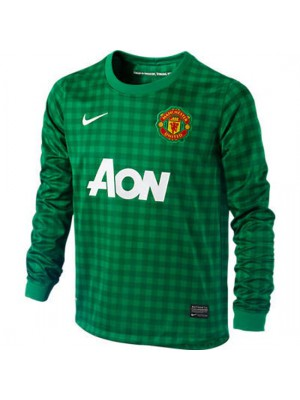 Manchester United goalie jersey 2012/13 - green