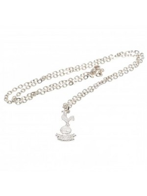 Tottenham Hotspur FC Silver Plated Pendant & Chain