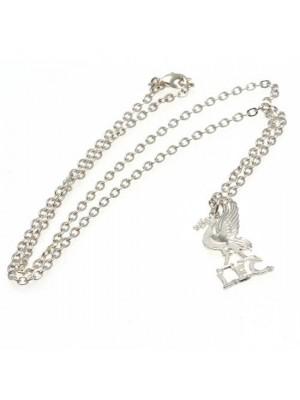 Liverpool FC Silver Plated Pendant & Chain LB