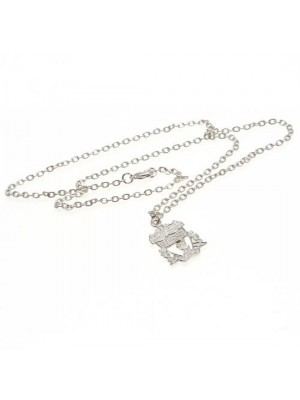 Liverpool FC Silver Plated Pendant & Chain CR