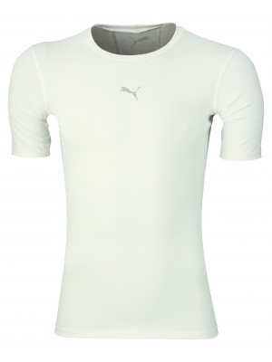 Puma compression tee short sleeve - white