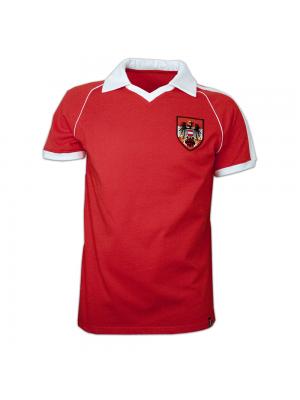Copa Austria Away WC 1982 Short Sleeve Retro Shirt