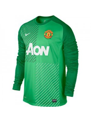 Manchaster united boys long sleeve goal keepar jarsy 2013/14