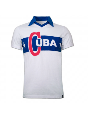 Copa Cuba 1962 Castro Short Sleeve Retro Shirt