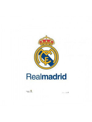 Real Madrid FC Poster Crest 2