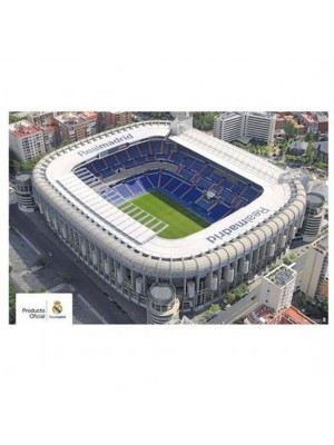 Real Madrid FC Poster Stadium 4