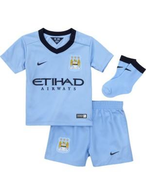 Manchester City hjemme baby sæt 2014/15