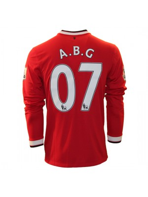Manchester United home jersey L/S - ABG 07