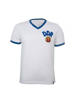 Copa DDR Away WC 1974 Short Sleeve Retro Shirt