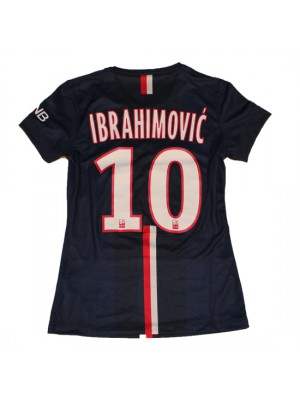 PSG home jersey womens - Ibra 10