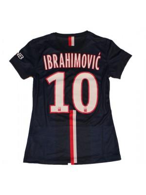 PSG home jersey womens - Ibra 10