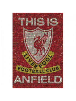 Liverpool FC Poster Mosaic 39