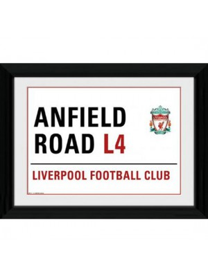 Liverpool FC Picture Street Sign 16 x 12