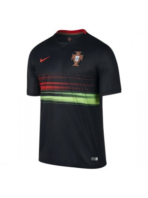Portugal away jersey black