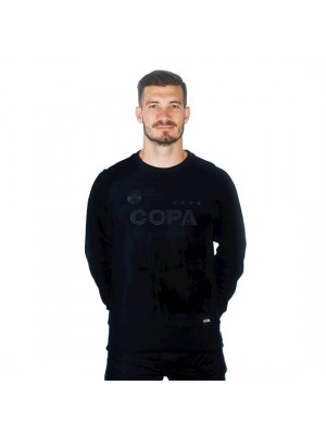 Copa All Black Logo Sweater