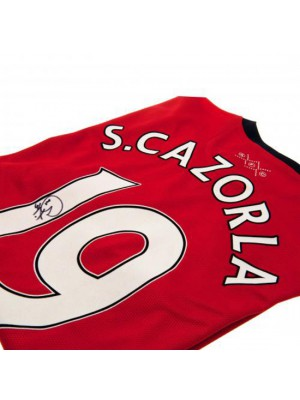 Arsenal FC Cazorla Signed Shirt