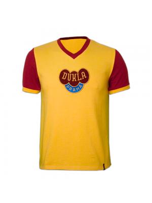 Dukla Prag udebane 1960erne retro trøje