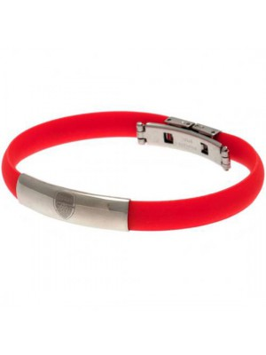 Arsenal FC Colour Silicone Bracelet