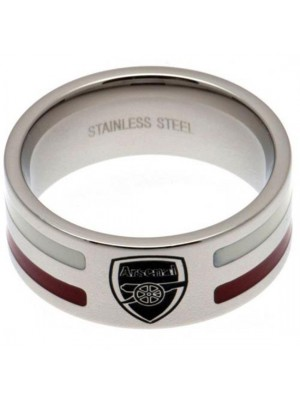 Arsenal FC Colour Stripe Ring Large