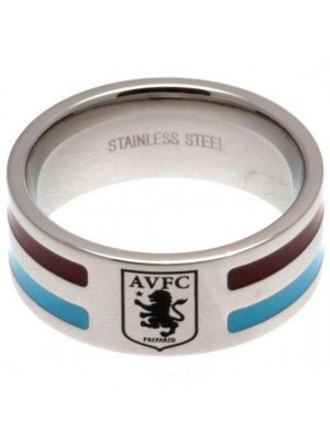 Aston Villa FC Colour Stripe Ring Small