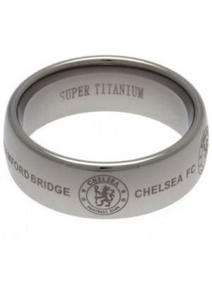 Chelsea FC Super Titanium Ring Medium