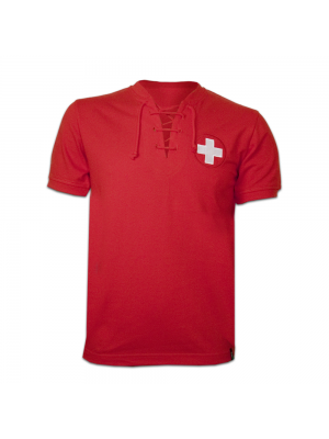 Copa Switzerland Wc 1954 Short Sleeve Retro Shirt