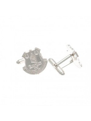 Everton FC Sterling Silver Cufflinks