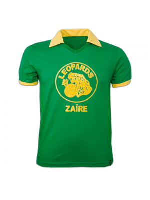 Copa Zaire Wc 1974 Short Sleeve Retro Shirt