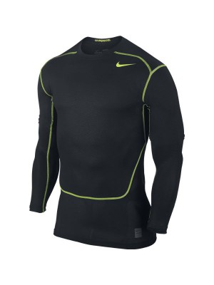 Hypercool Max compression top L/S - black
