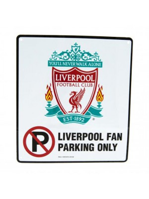 Liverpool FC No Parking Sign