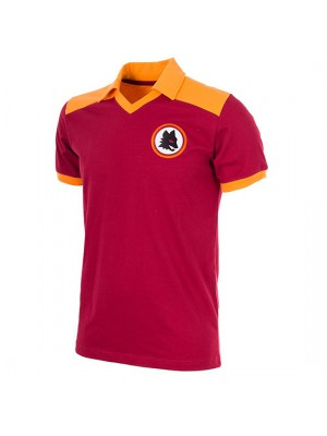 AS Roma 1980 Short Sleeve Retro Football Shirt