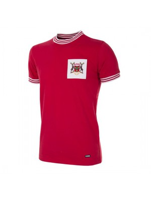 Nottingham Forest 1966-1967 retro trøje - korte ærmer