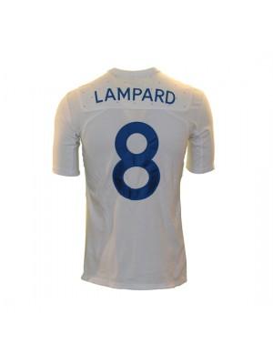 England hjemme trøje 2010/11 - Lampard 8