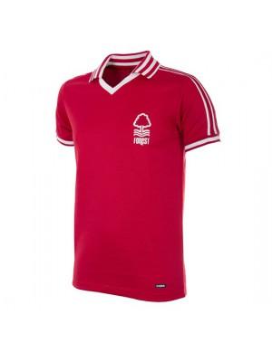 Nottingham Forest 1976-1977 retro trøje - korte ærmer
