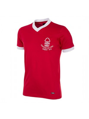 Nottingham Forest 1979 European Cup Final Short Sleeve Retro Shirt