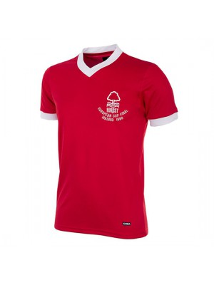 Nottingham Forest 1980 European Cup Final Short Sleeve Retro Shirt