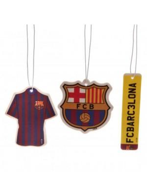 FC Barcelona 3pk Air Freshener