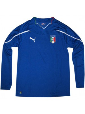Italy home jersey long sleeve World Cup 2010