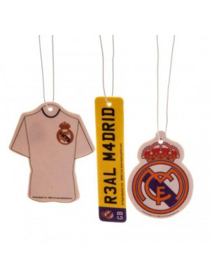 Real Madrid FC 3pk Air Freshener