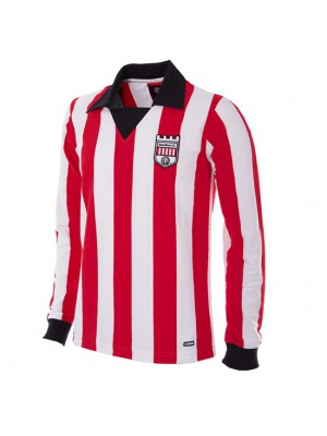 Brentford FC 1974 - 75 Long Sleeve Retro Football Shirt