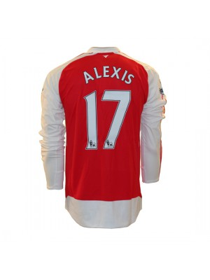 Arsenal hjemme trøje L/Æ 2015/16 - Alexis 17
