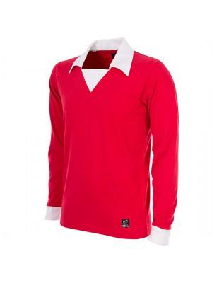 George Best Man. Utd. 1970´s Long Sleeve Retro Football Shirt