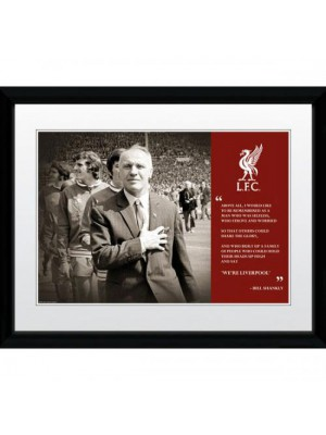 Liverpool FC Picture Shankly 16 x 12