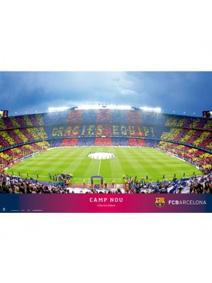FC Barcelona Poster Stadium 34