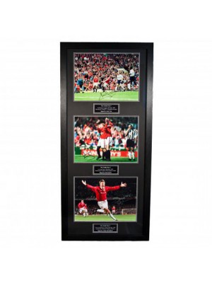 Manchester United FC Treble Winners Signed Framed Prints
