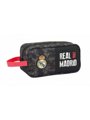 Real Madrid Toilet Bag 26X15X12 Black