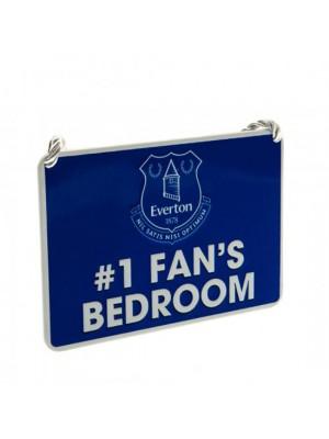 Everton FC Bedroom Sign No1 Fan