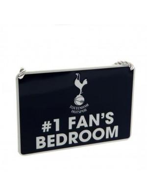 Tottenham Hotspur FC Bedroom Sign No1 Fan